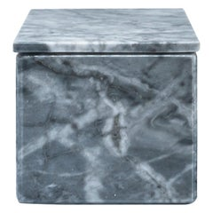 Squared Grey Marble Box