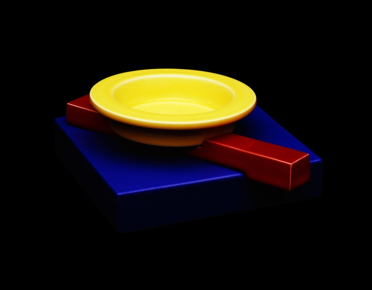 Modern Squash Ashtray, by Maria Sanchez from Memphis Milano For Sale