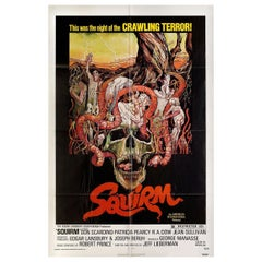 Squirm 1976 U.S. One Sheet Film Poster