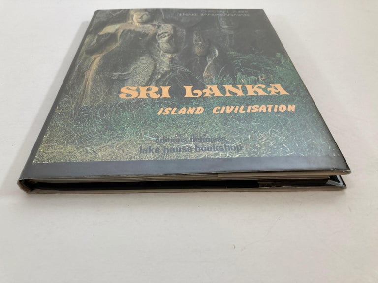 Country Sri Lanka Island Civilisation Hardcover Book For Sale