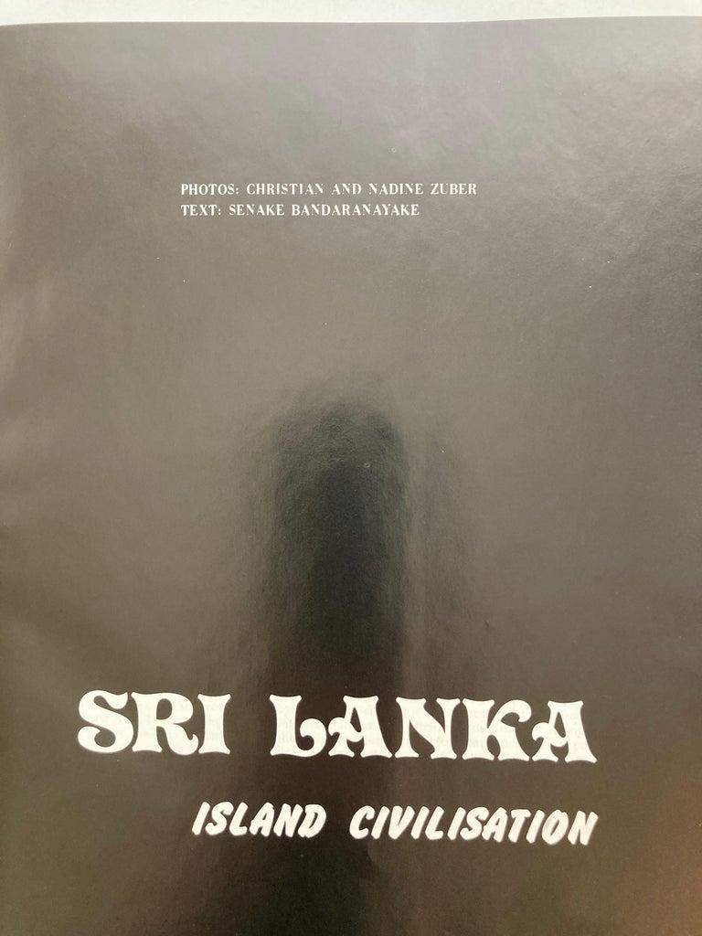 20th Century Sri Lanka Island Civilisation Hardcover Book For Sale