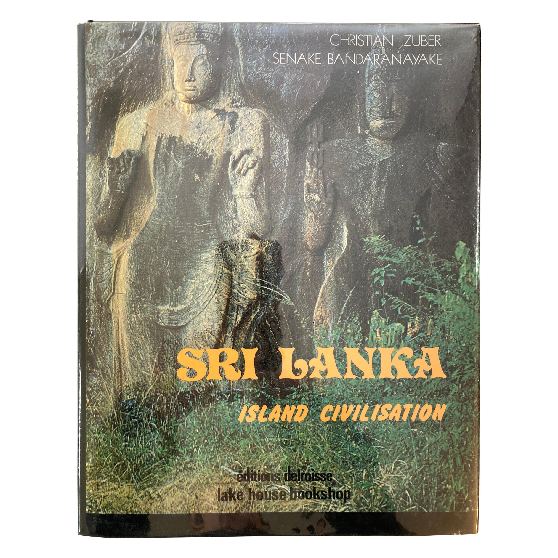 Sri Lanka Island Civilisation Hardcover Book