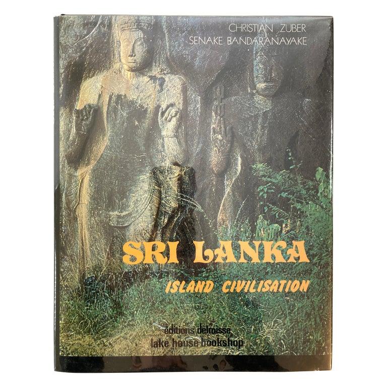 Sri Lanka Island Civilisation Hardcover Book For Sale