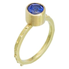 Sri Lanka Sapphire 18 Karat Gold Ring