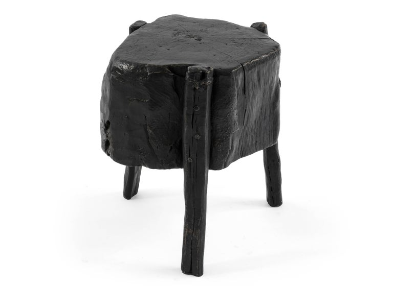 Hand-Crafted S.R.O Memoria Stool #1 by Ewe Studio For Sale