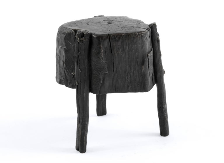 Mexican S.R.O Memoria Stool #1 by Ewe Studio For Sale