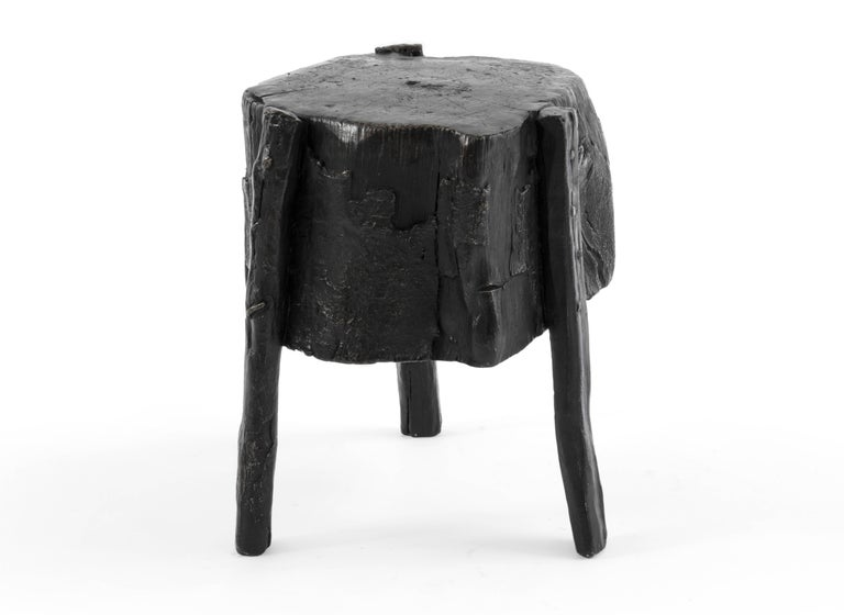 Brutalist S.R.O Memoria Stool #1 by Ewe Studio For Sale
