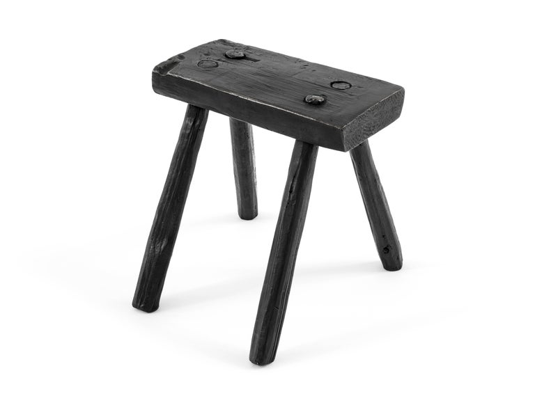 Mexican S.R.O Memoria Stool #2 by EWE Studio For Sale