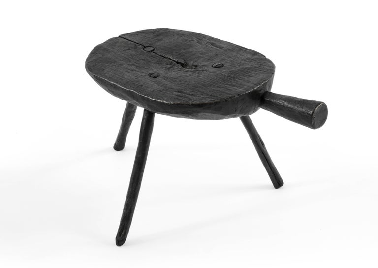 Brutalist S.R.O Memoria Stool #3 by EWE Studio For Sale