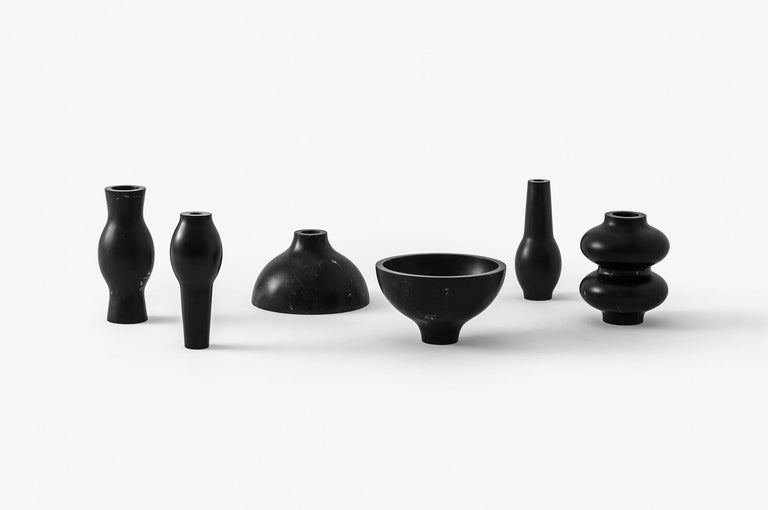 Sacred ritual objects is the first collection by EWE Studio. S.R.O. was created out of fascination by the evolving skill of the artisans and their successful execution of exquisite objects, designed to ignite a connection with the divine.  The