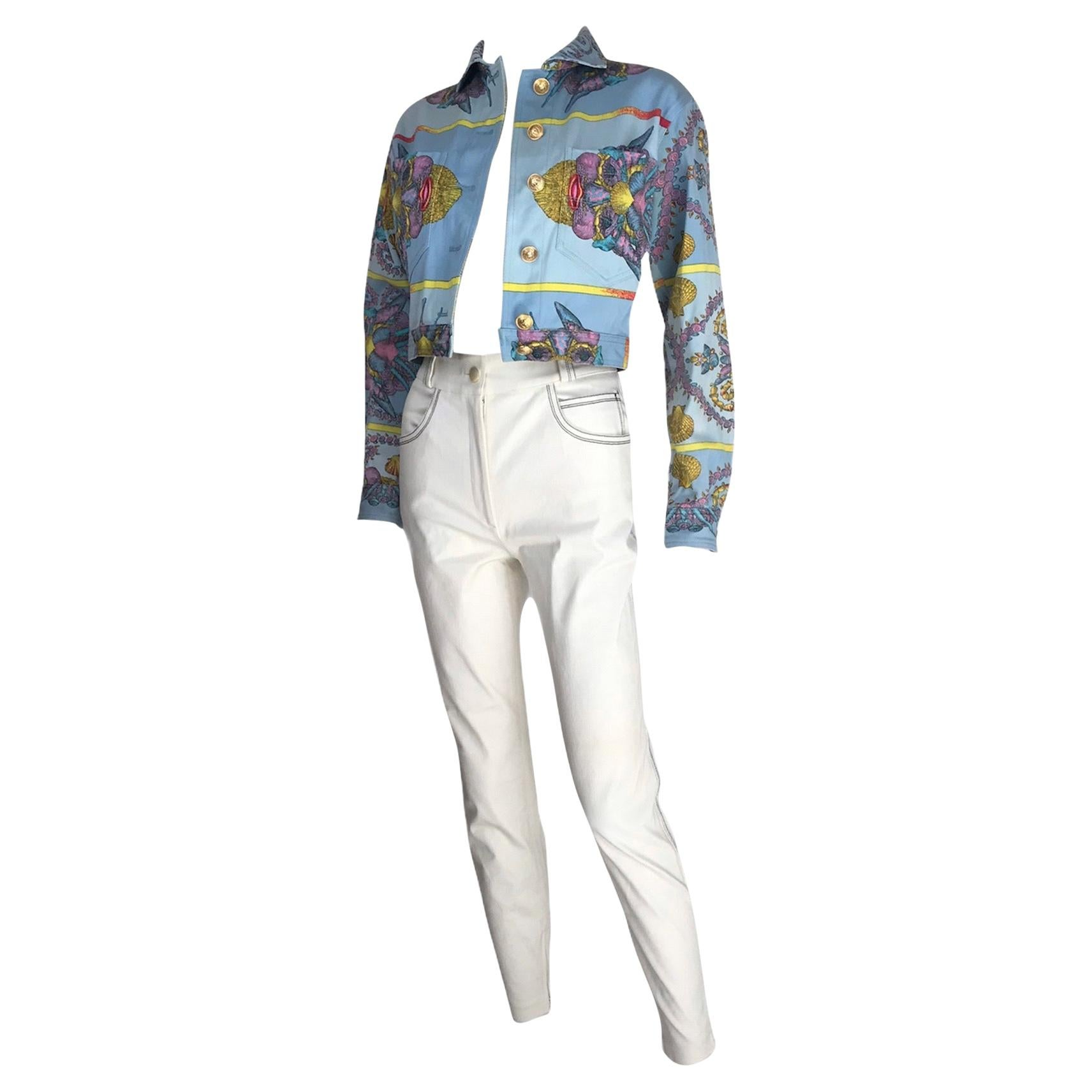 SS 1992 Gianni Versace Look 76  Seashell Set Trésors de la Mer Small