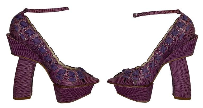 Gray SS 2007 Christian Dior John Galliano Haute Couture Runway Samurai Japanese Heels For Sale