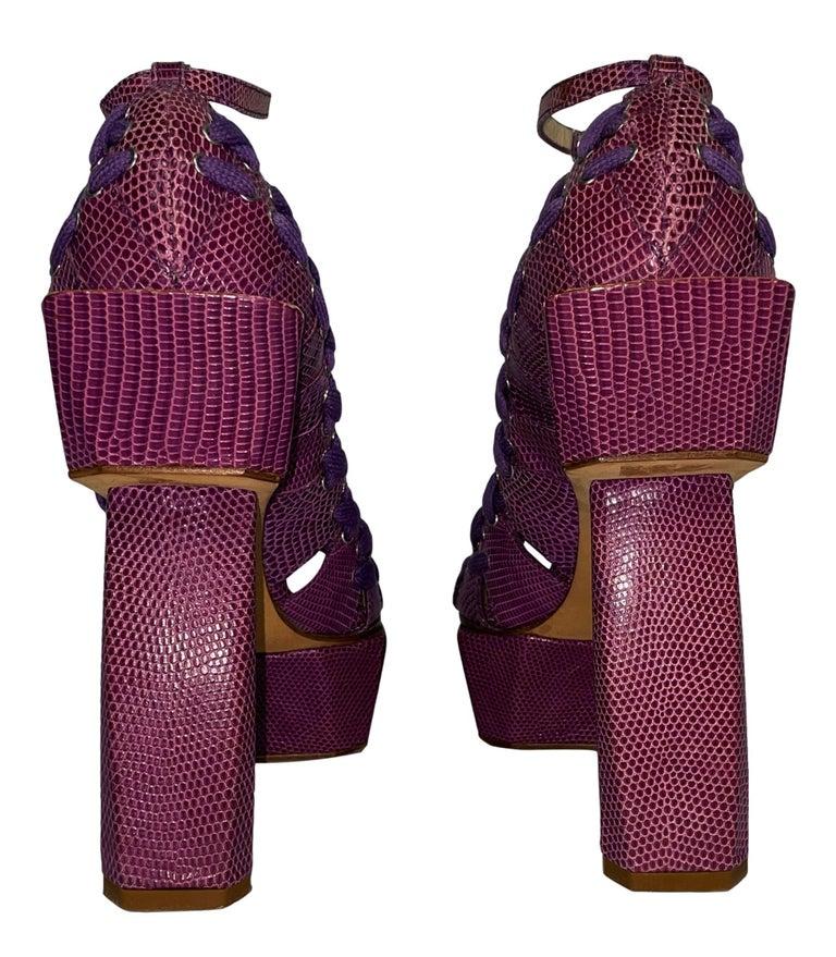 SS 2007 Christian Dior John Galliano Haute Couture Runway Samurai Japanese Heels In Good Condition For Sale In Yukon, OK
