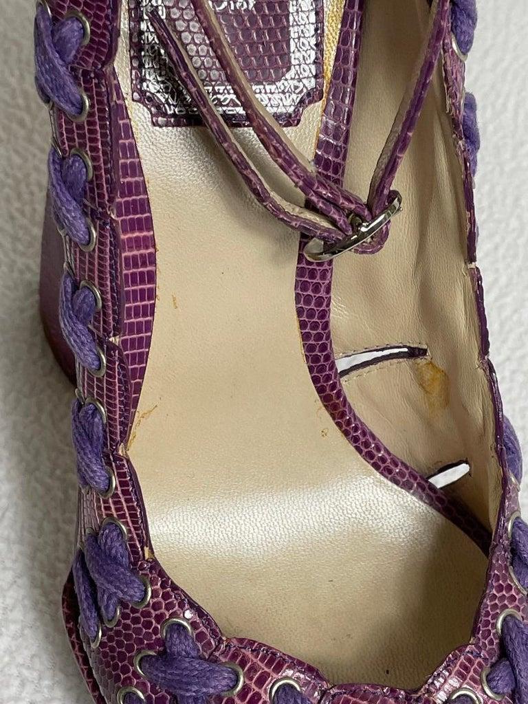 SS 2007 Christian Dior John Galliano Haute Couture Runway Samurai Japanese Heels For Sale 4
