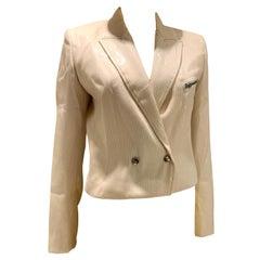 SS 2011 Jean Paul Gaultier Plastic Coated Jacket