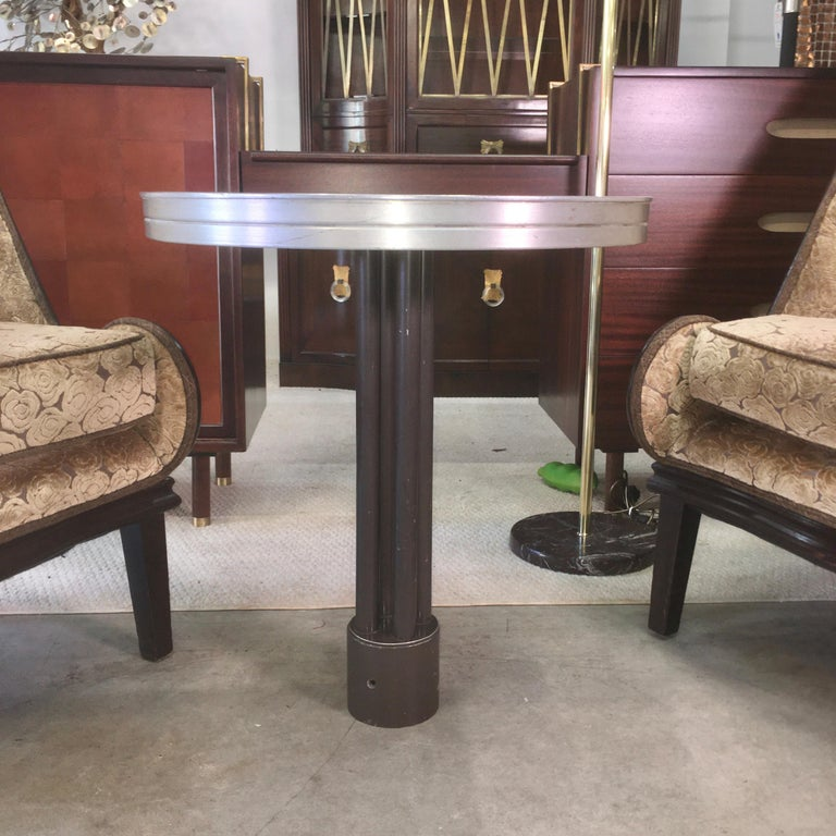 Mid-Century Modern SS United States Cocktail Table For Sale