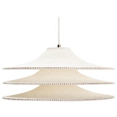SS03 Ø50cm / 19.6in.  Pendant Light, Hand Crocheted in 100% Egyptian Cotton