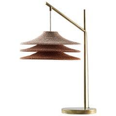 SS03 Table Light, Hand Crocheted, in 100% Mercerized Egyptian Cotton