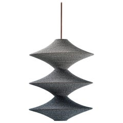 SS05 Ø50cm / 19.6in. Pendant Light, Hand Crocheted in 100% Egyptian Cotton