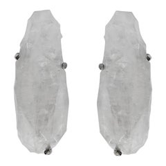 SSW Rock Crystal Sconces by Phoenix