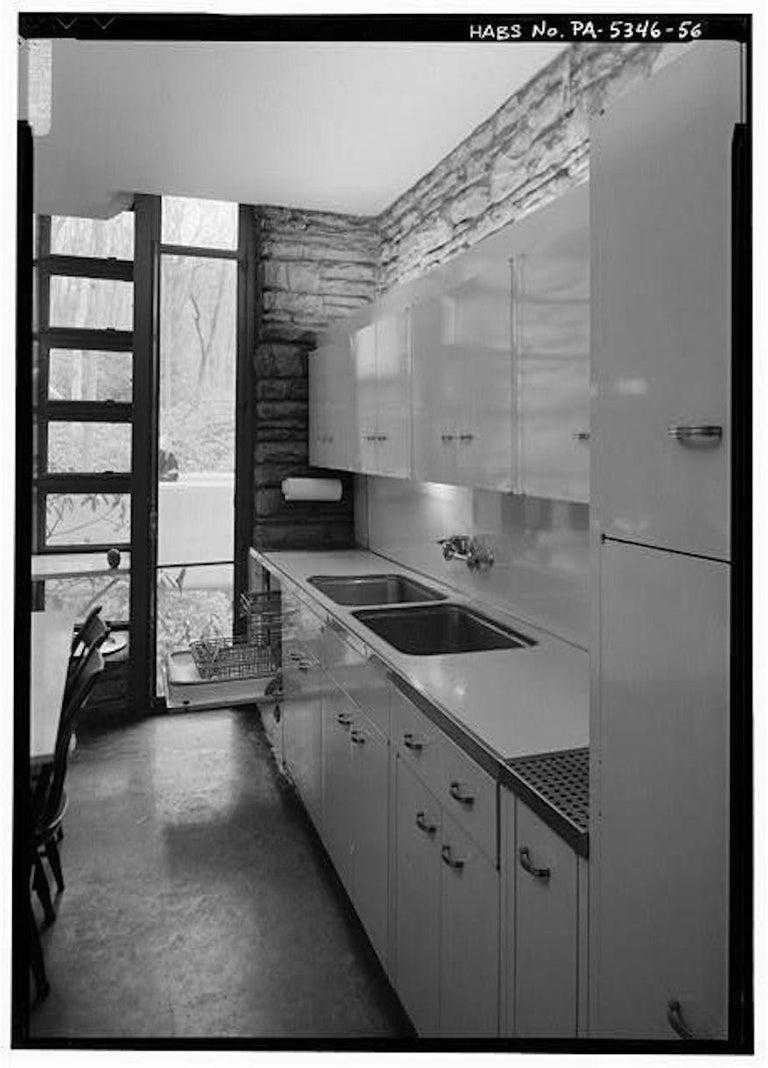 St Charles Mid Century Modern Steel Kitchen Cabinet Drawer Original 1940s For Sale At 1stdibs