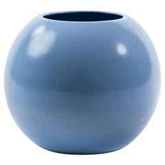 St. Clement French Art Deco Ceramic Sphere Vase