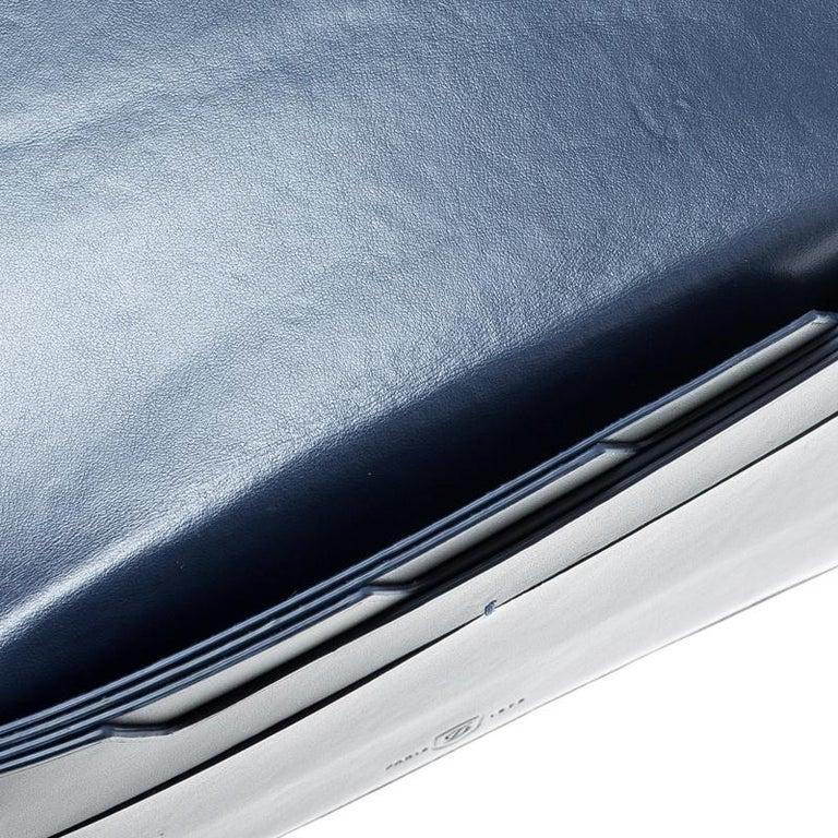 Men's S.T. Dupont Grey Leather Plat Slim Organizer For Sale