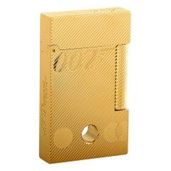 S.T. Dupont Ligne 2 James Bond 007 Gold Limited Edition Lighter 116318