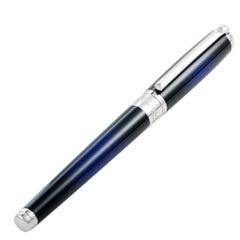S.T. Dupont Line D Atelier Blue Medium Fountain Pen