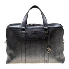 S.T. Dupont Leather Line DStar Wars Document & Laptop Holder Briefcase