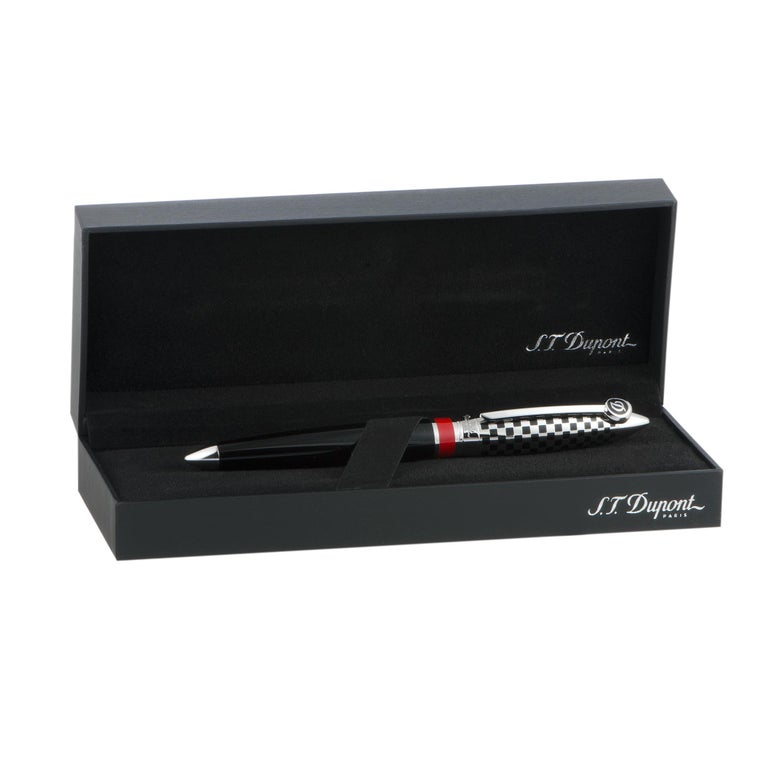 Women's or Men's S.T. Dupont Streamline R Race Machine Fountain Pen For Sale