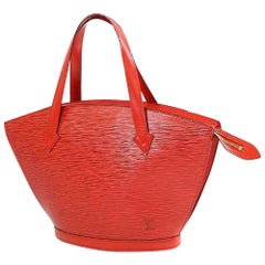 St. Jaques shopping  Womens  tote bag M52279  castilian red