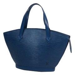 St. Jaques  Womens  tote bag M52275  Toledo Blue