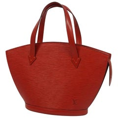 St. Jaques  Womens  tote bag M52277  red