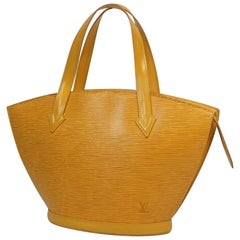 St. Jaques  Womens  tote bag M52279  yellow
