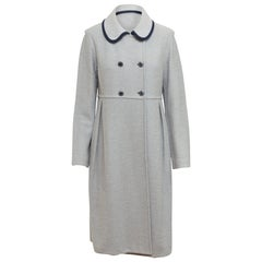 St. John Collection Grey Long Coat
