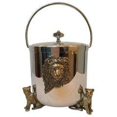 St John Lion Ice Bucket