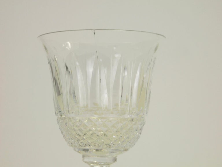 St. Louis French Extensive Set of 56 Vintage Crystal Drinking Glasses For Sale 8