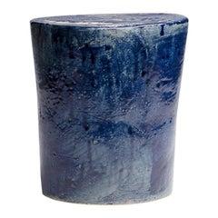 ST05 Glazed Stoneware Stool by Pascale Girardin