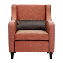 St104 Dust Pink Armchair