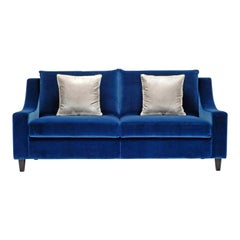 St108 Cobalt Blue Sofa
