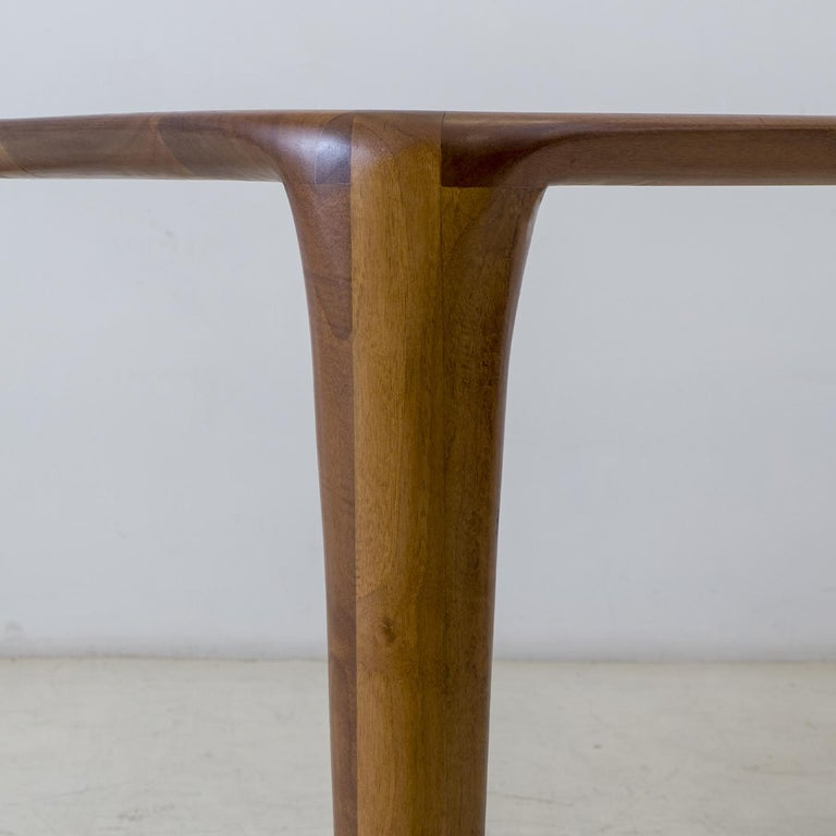 Modern S_Table Solid Wood Dining Table For Sale