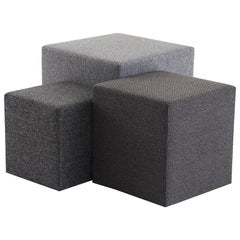 Stack Ottoman Customized Made to order Poufs seating ottomans