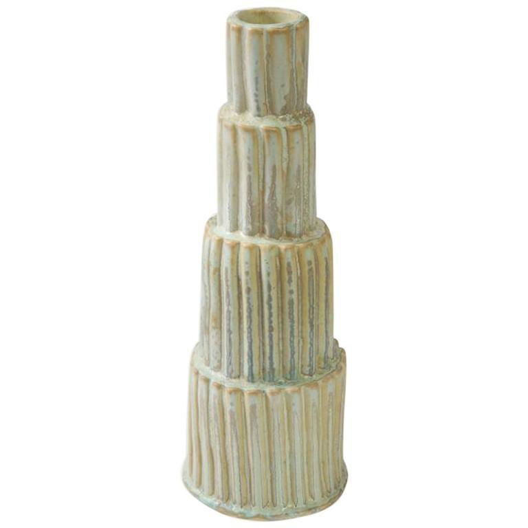 Stack Vase #4 by Robbie Heidinger