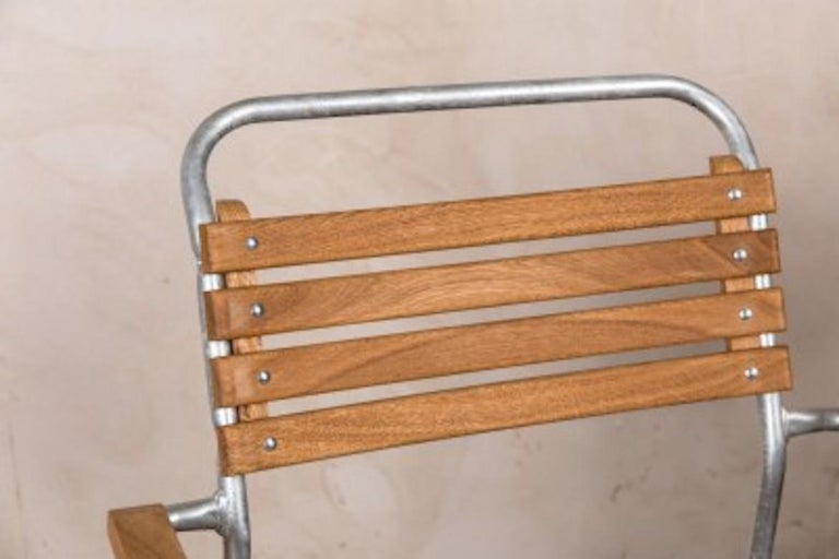 Stackable Chair with Arms, 20th Century For Sale 7