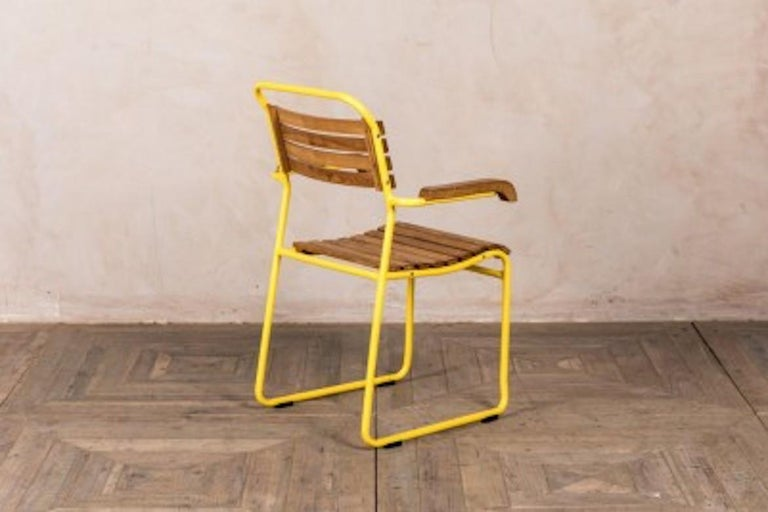Stackable Chair with Arms, 20th Century For Sale 3