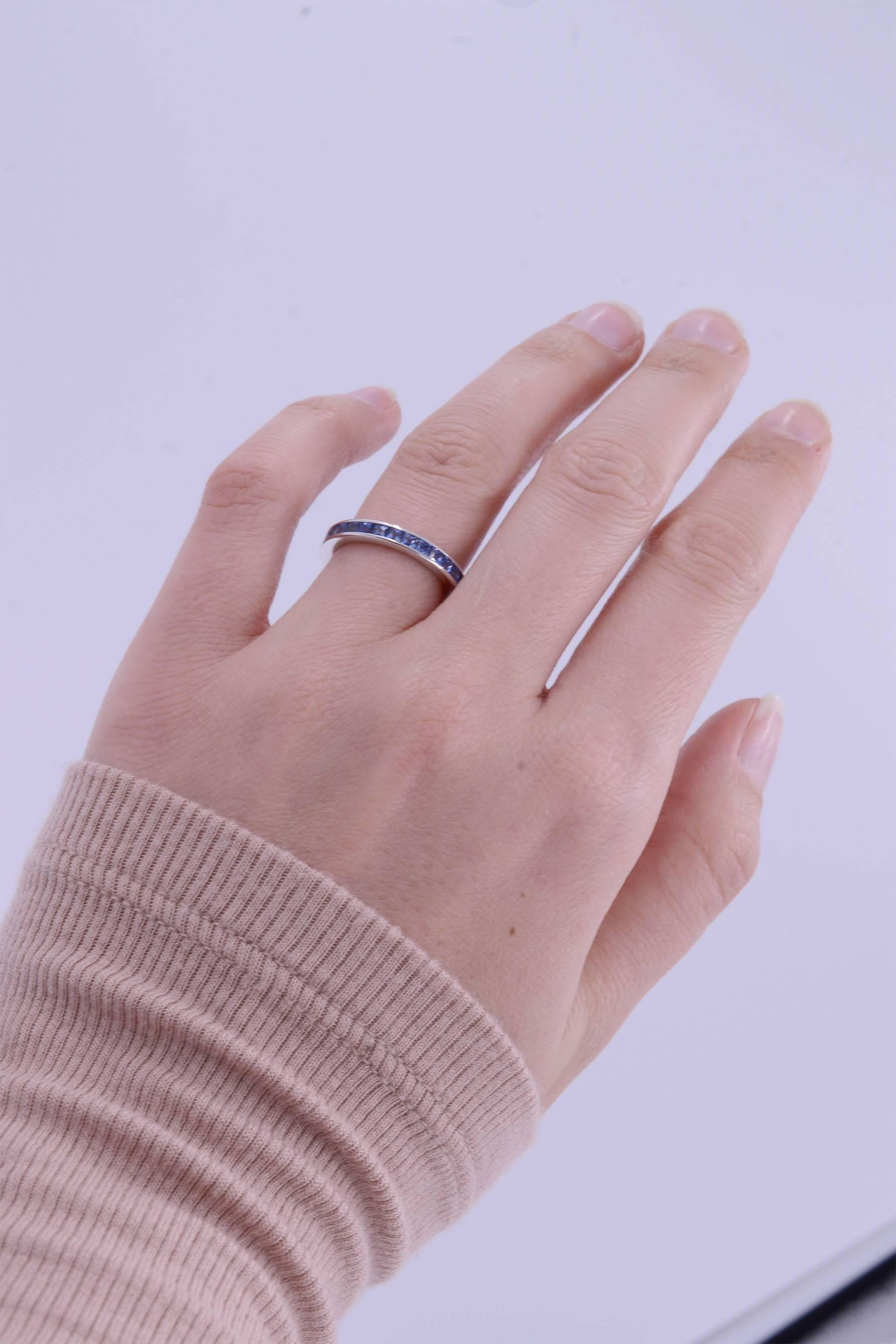 product diamond band anniversary gold bands jewellers set moss ring channel infinity ben white