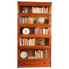 stacking bookcase globe wernicke in walnut