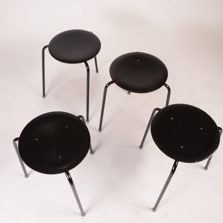 Stacking Stools by Arne Jacobson In Good Condition For Sale In Los Angeles, CA