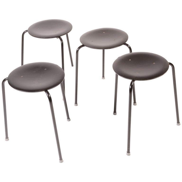 Stacking Stools by Arne Jacobson For Sale